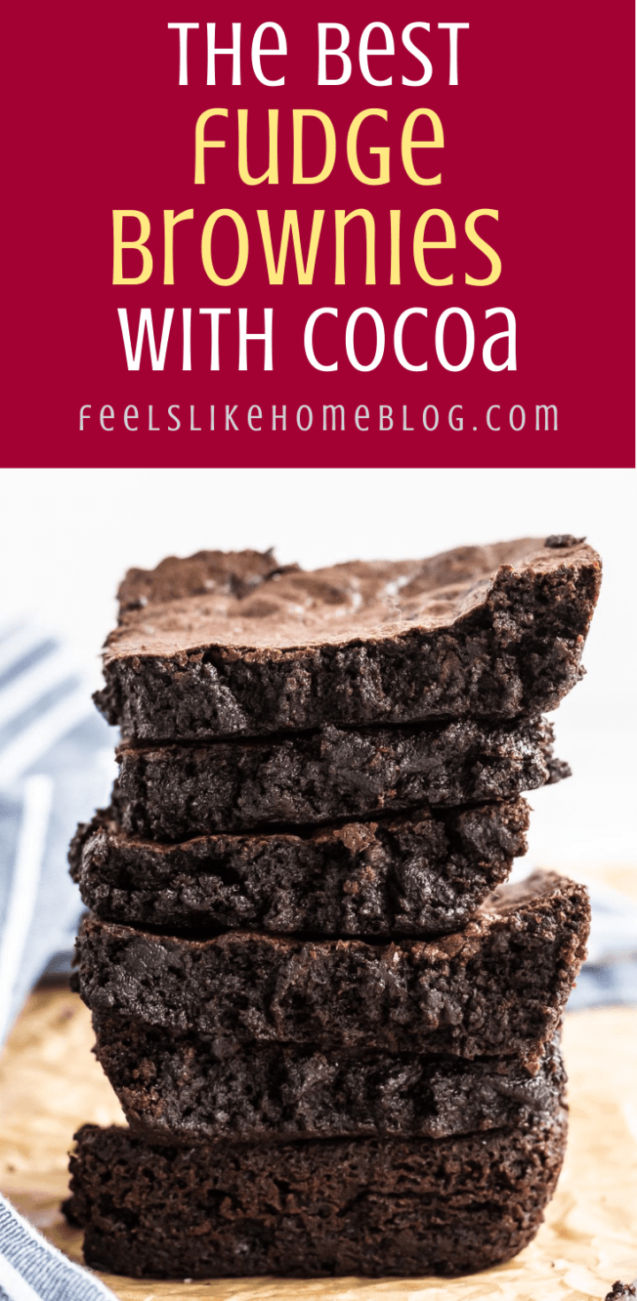 The Best Cocoa Powder Brownie Recipe