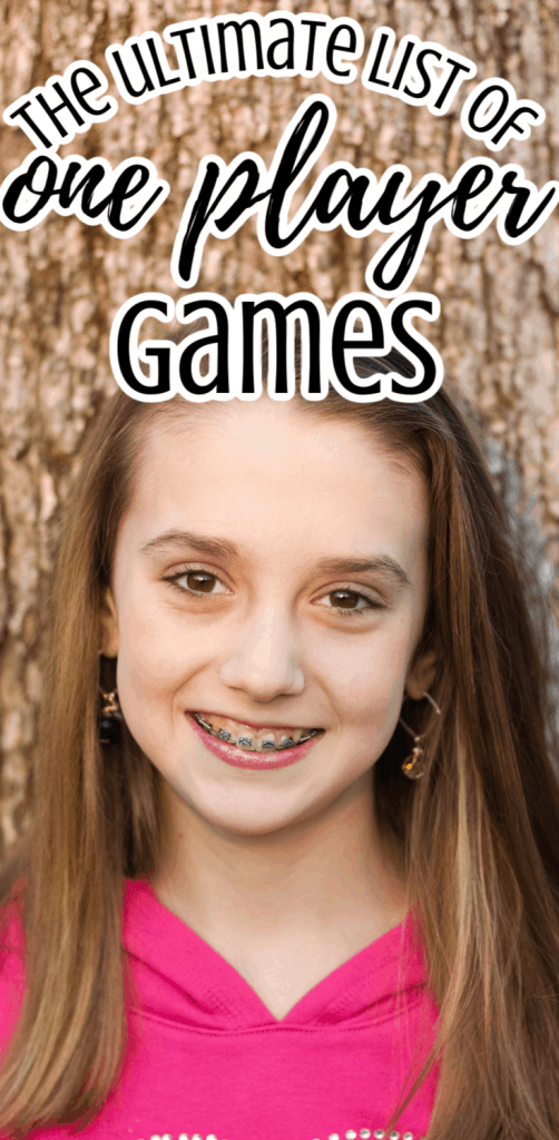 a tween girl with braces