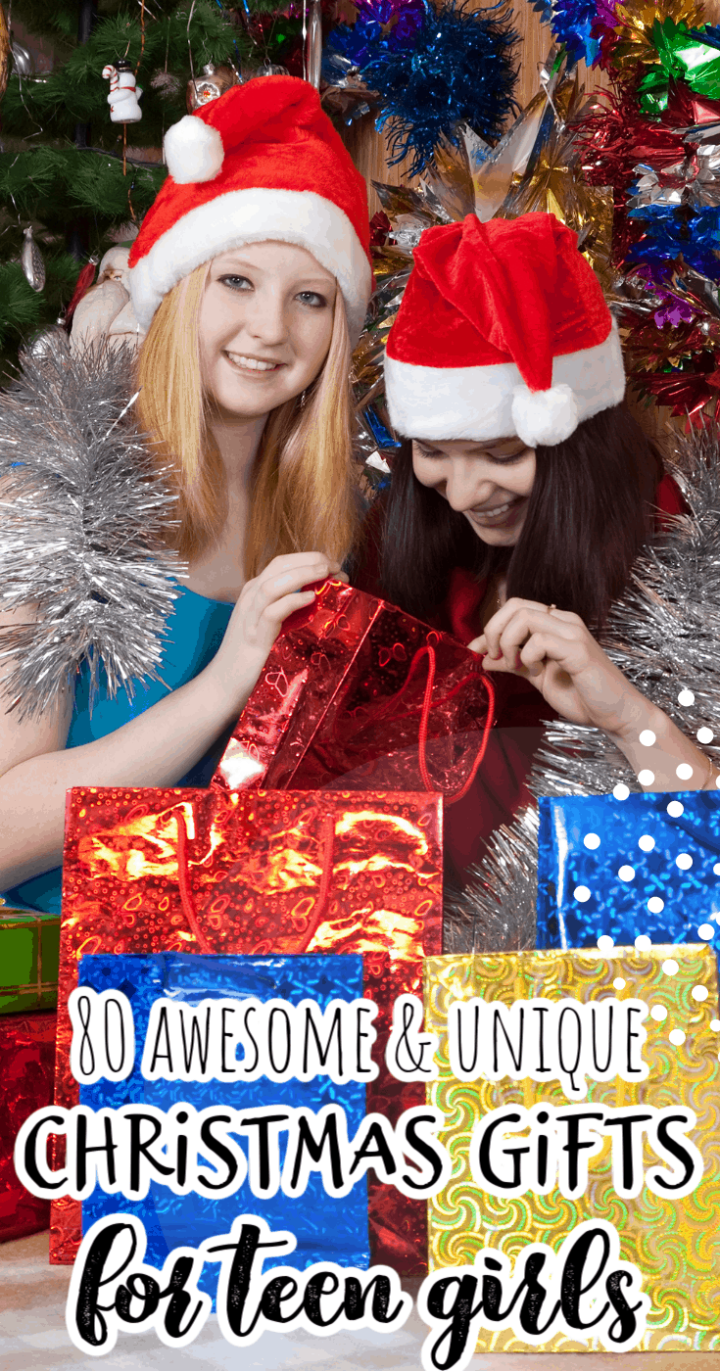 80 Awesome & Unique Christmas Gift Ideas for Teen Girls