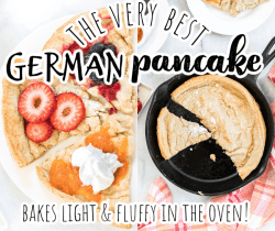 collage of dutch baby photos