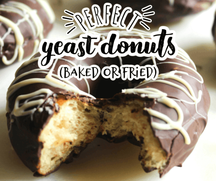 a fried yeast donut with one bite taken out