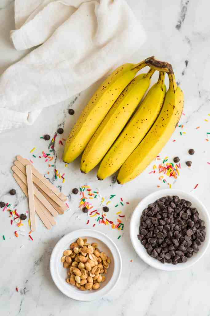 chocolate covered banana ingredients