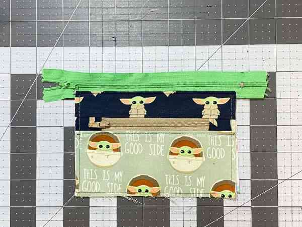 press open and topstitch