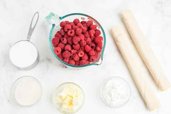 raspberry pie ingredients