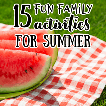 watermelon on a picnic blanket