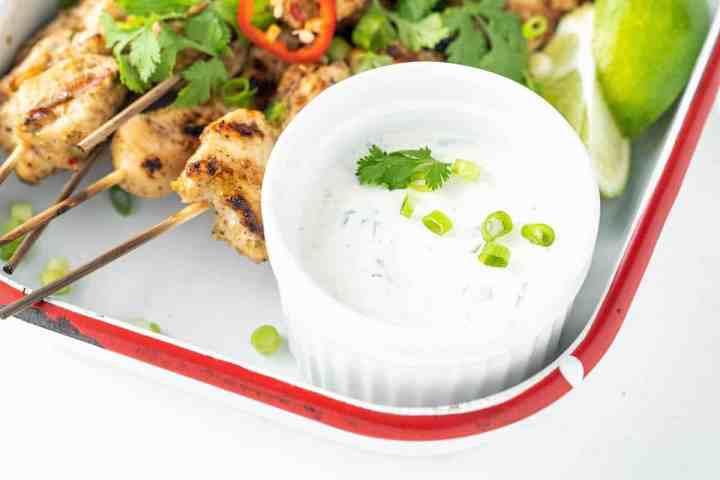 homemade Creamy Cilantro Lime Ranch Salad Dressing