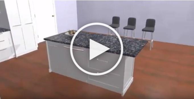 Countertop Heaters for Overhangs