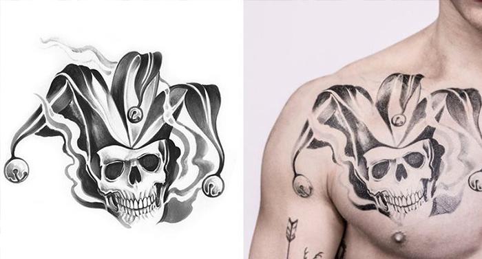 Joker El Significado De Sus Tatuajes Feel Tattoo