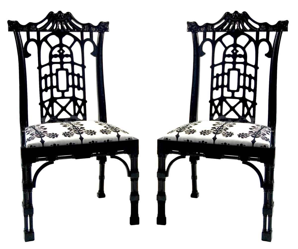 Black White Chair Black And White Chairs Design Ideas