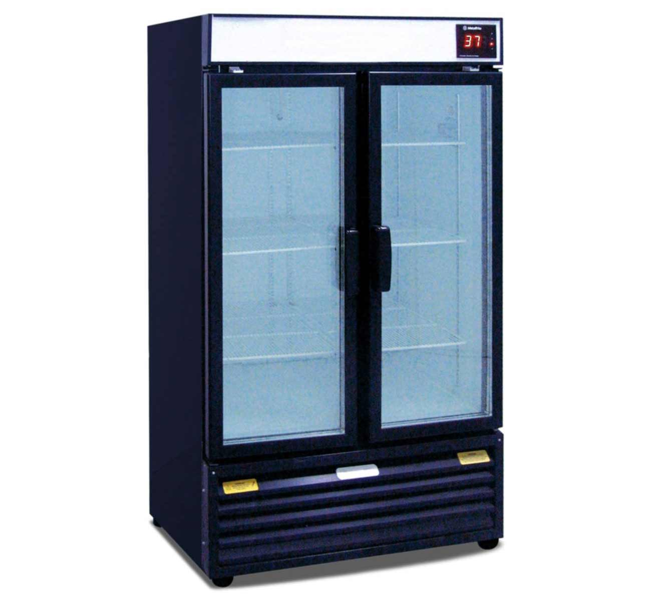 Glass Front Beverage Refrigerator