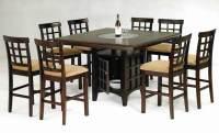Bar Height Dining Table Idea