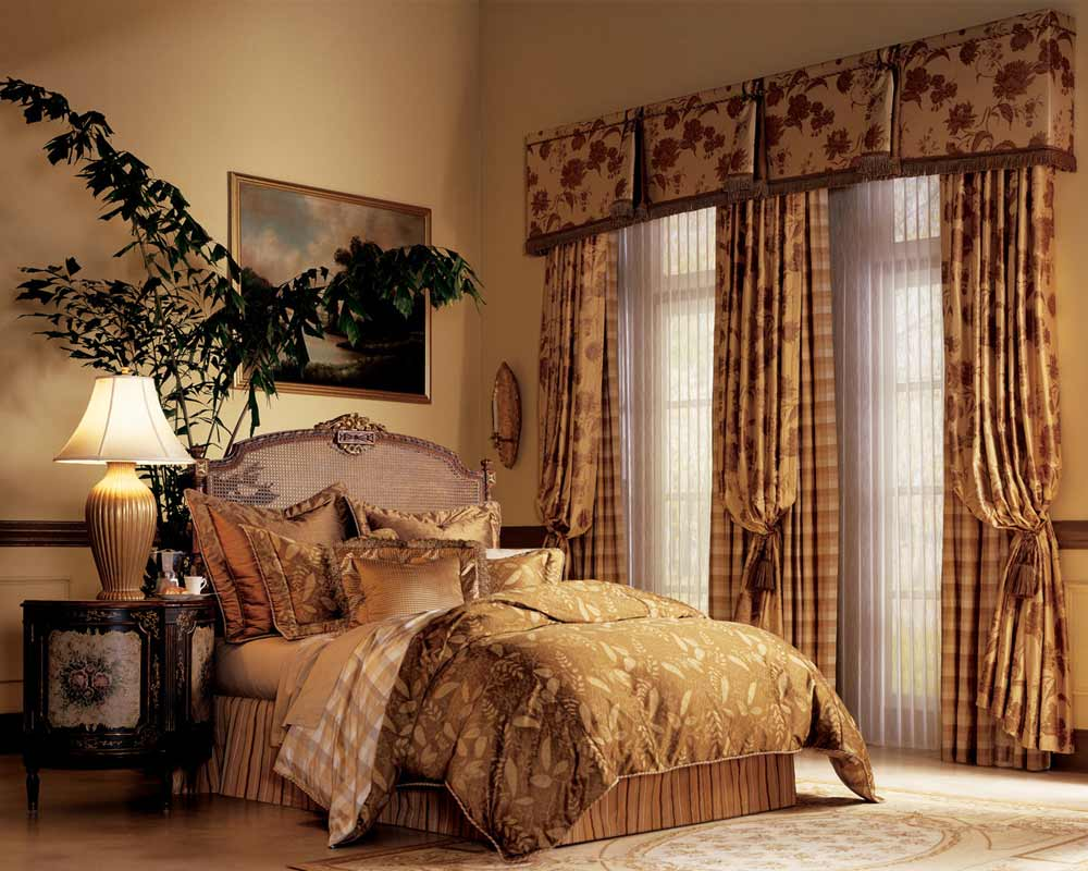 Curtain Styles For Bedrooms