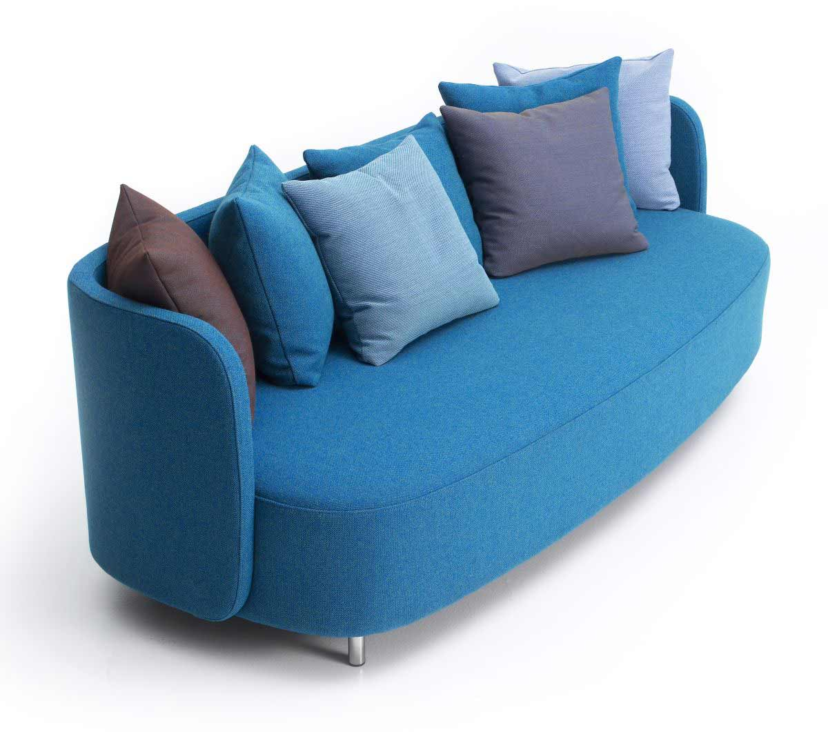 Blue Couches Living Rooms  Feel The Home