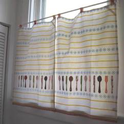 Cafe Curtains For Kitchen Metal Island Ideas