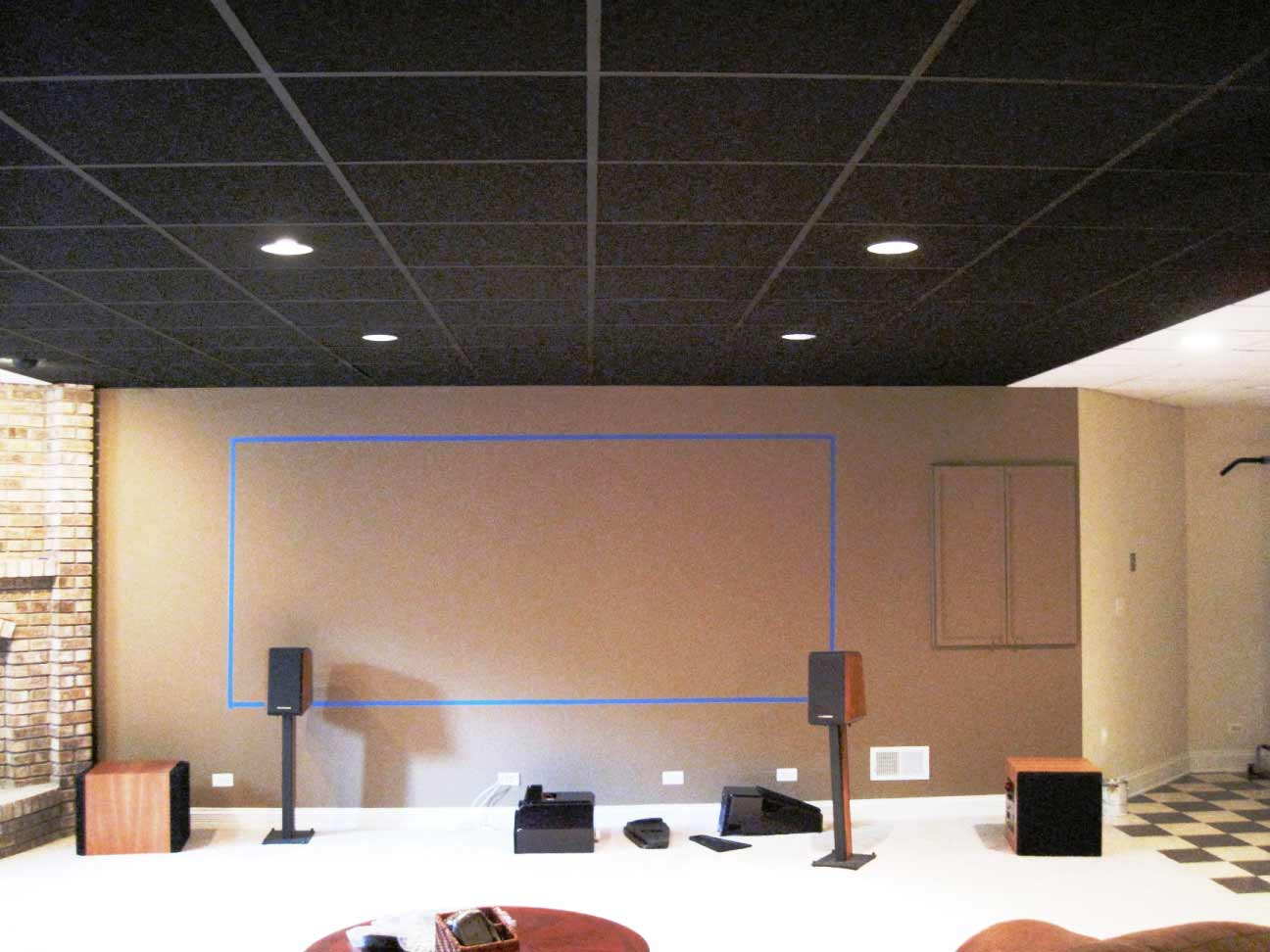 Black Ceiling Tiles for Beautiful Home