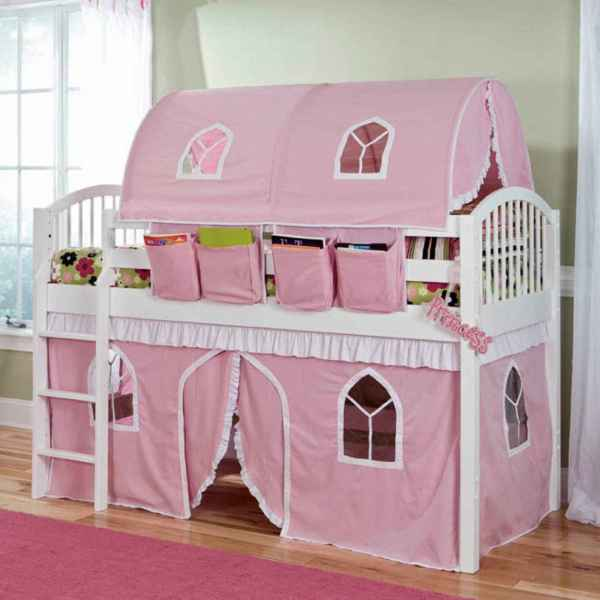 Castle Beds Girls Loft Plans