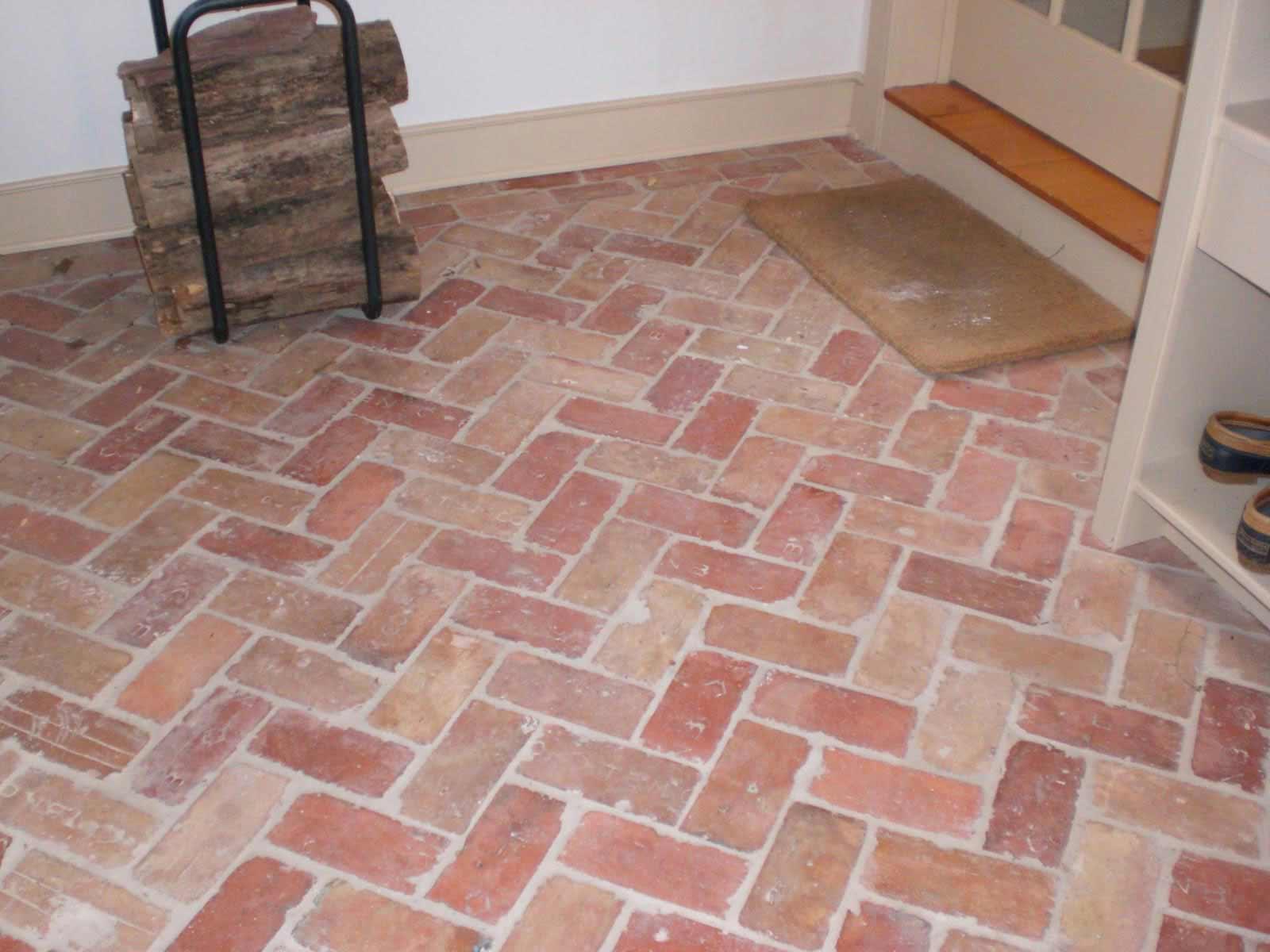 Thin Brick Flooring  Feel The Home