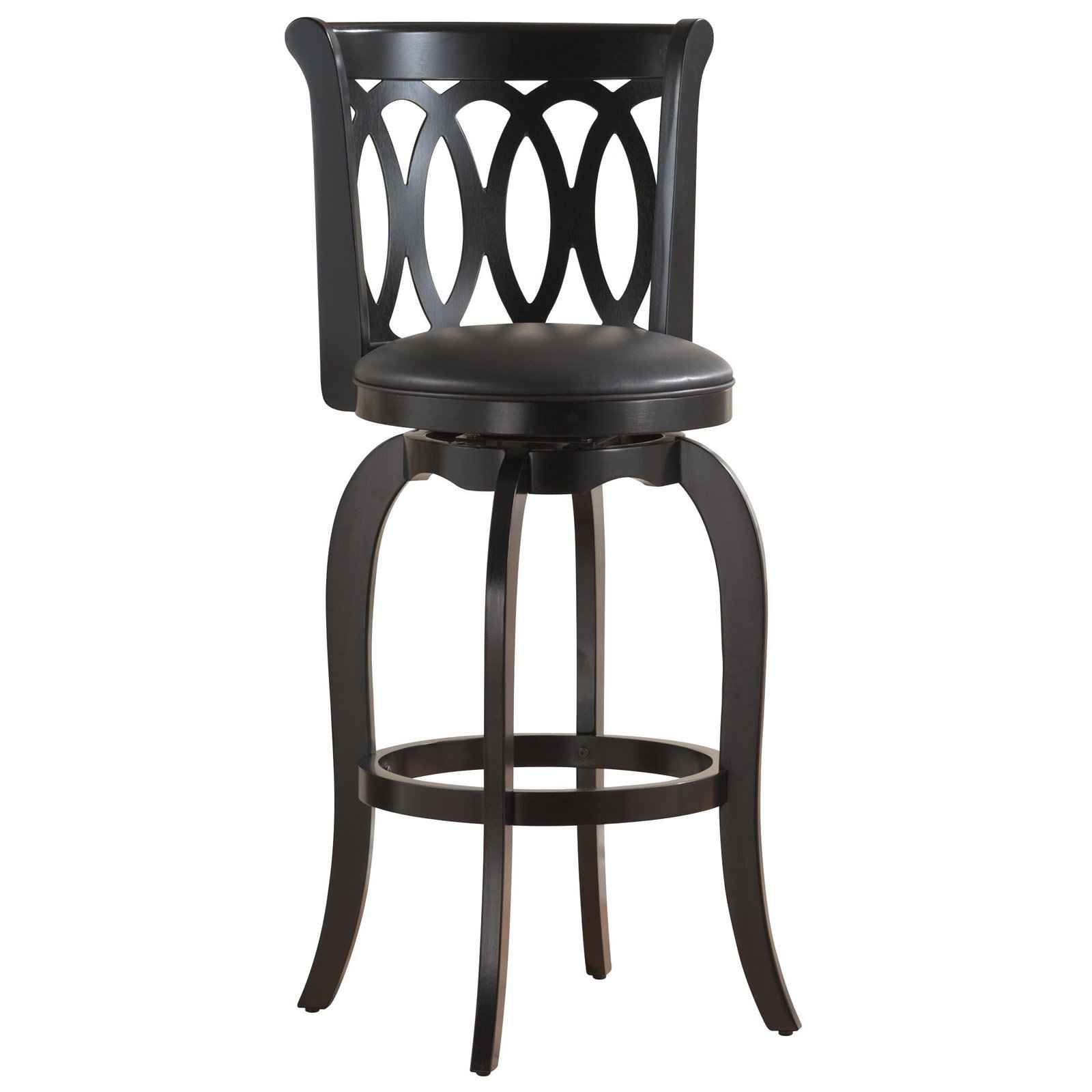black bar stool chairs stacking sling patio cheap stools ikea feel the home