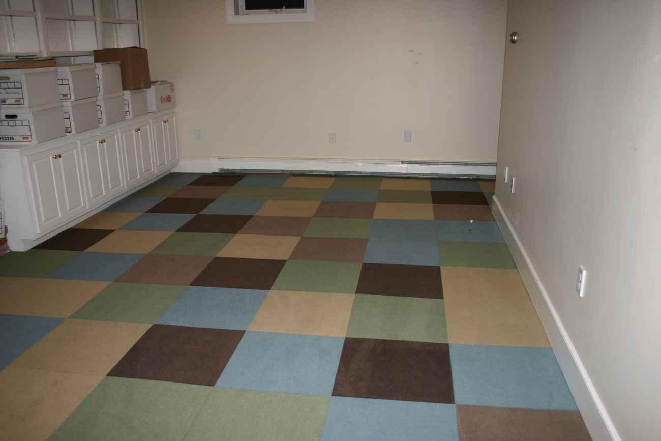 Commercial Carpet Tiles For Basement  Feel The Home