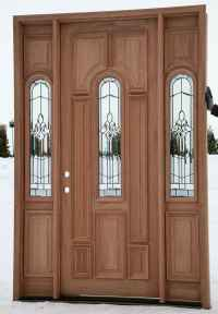 Cheap Wood Entry Doors