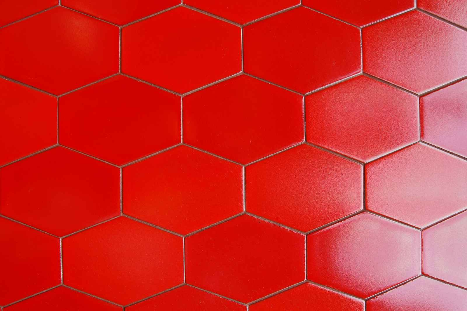 Red Ceramic Floor Tiles That Bright And Clean
