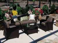 Black Wicker Patio Furniture Sets | Feel The Home