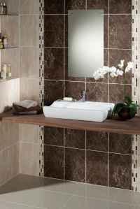 Brown Bathroom Tile Ideas | Feel The Home