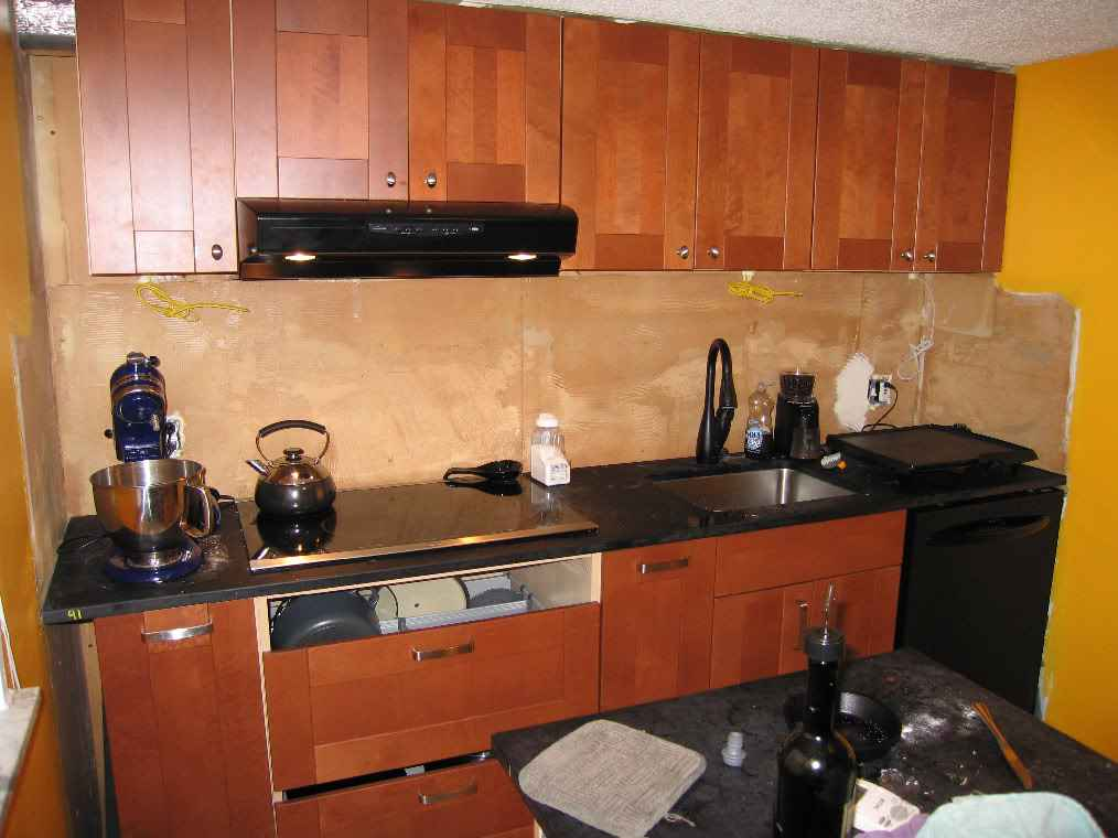 Wallpaper Backsplash Ideas