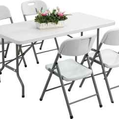 Plastic Table And Chair Set White Resin Chairs Wedding Reception Outdoor For Practical Furniture