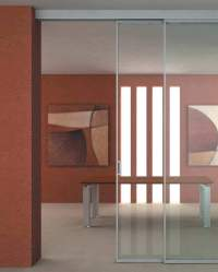 Sliding Glass Door Partition | Feel The Home