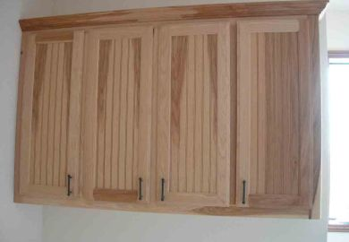 Unfinished Kitchen Cabinets Glass Doors