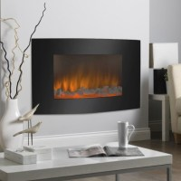 Wall Mounted Electric Fireplace Design Ideas for Cozy ...