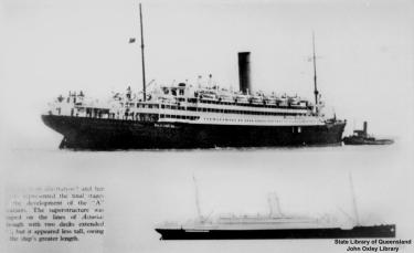 the rms arlanza, teak was taken from this to make the beautiful teak garden bench which we restored