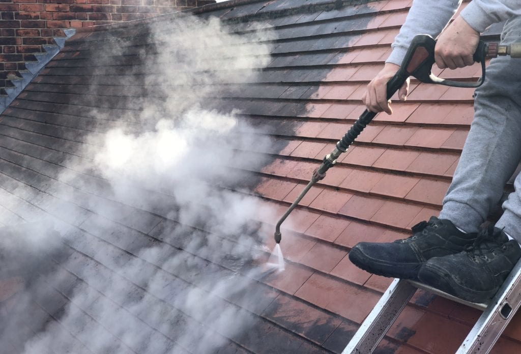 feel the pressure uk roof cleaning experts