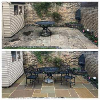 feel the pressure uk patio black spot removal service