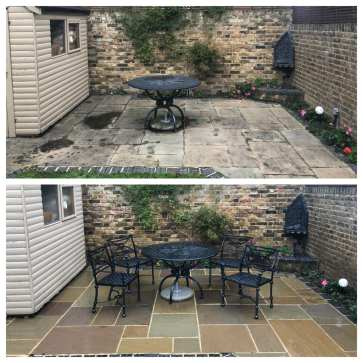 feel the pressure uk patio black spot removal service