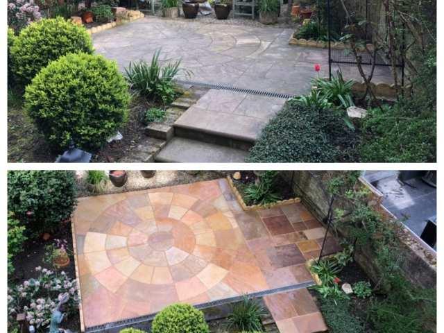 patio cleaning belsize park