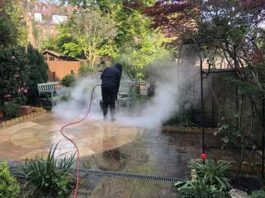 CLEANING INDIAN SANDSTONE