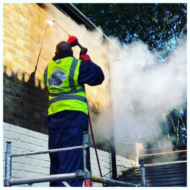 Doff superheated brick cleaning at Feel the pressure UK
