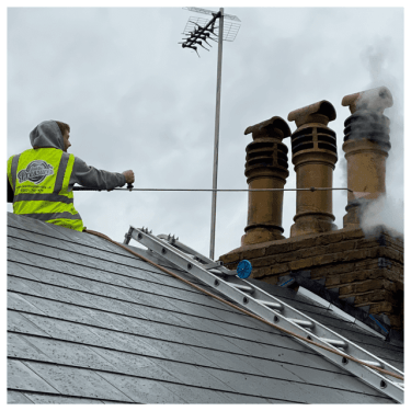 roof cleaning services, Feel the pressure UK