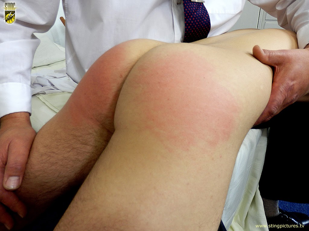 A well rounded spanking 10
