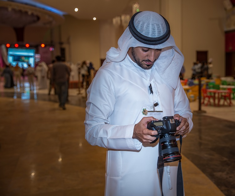Nasser Abdulghafor Alawadi and his camera