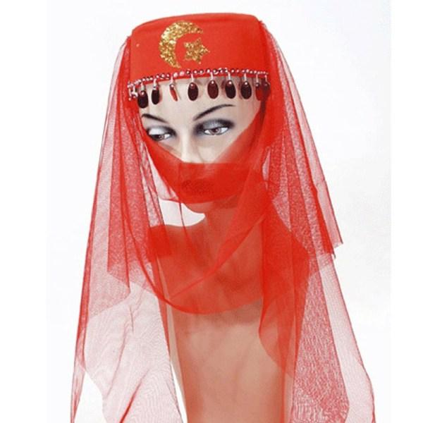 Turks hoedje met sluier