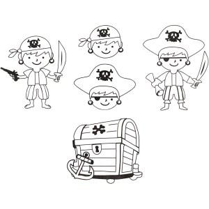 krimpfolie piraten