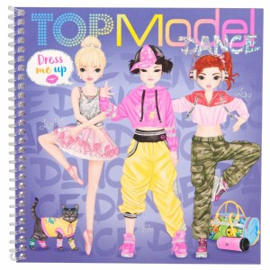 topmodel dress me up kleurboek
