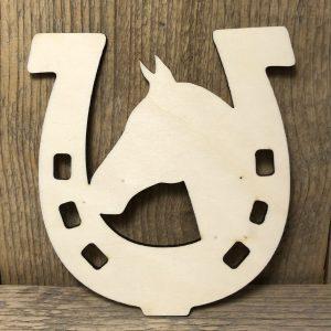 houten paardenhoef