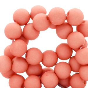 acrylkralen mat coral red