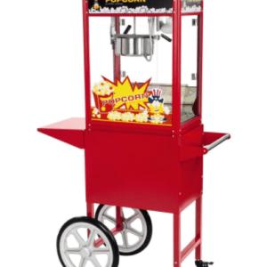 popcornmachine met onderkar