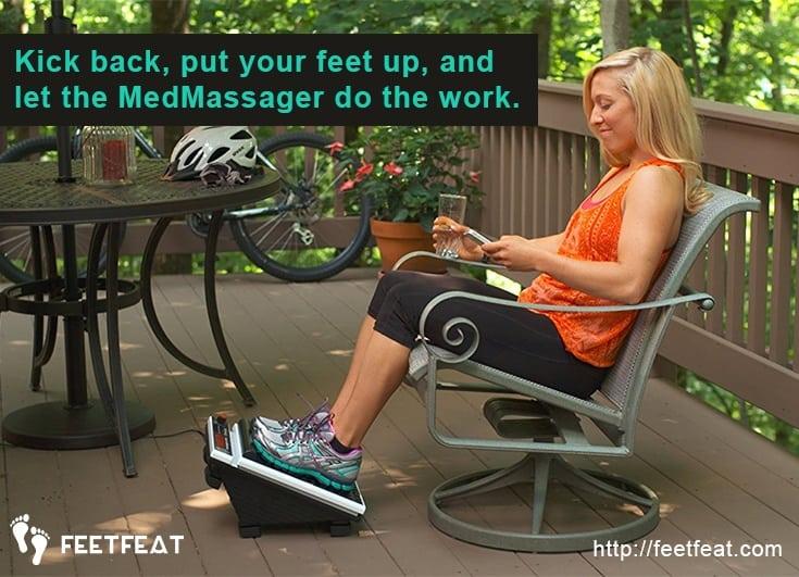 MedMassager Kick Back & Relax