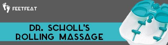 Dr Scholl's Rolling Massage Banner